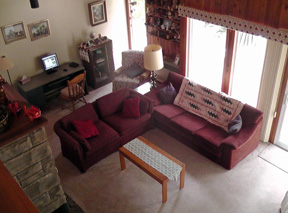 A & K Cottage Rental - Living Room